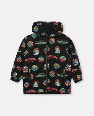 Stella Mccartney Kids Stella McCartney hello sunshine polyester jacket