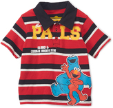 Children's Apparel Network Sesame Street Cookie Monster & Elmo Polo - Infant & Toddler