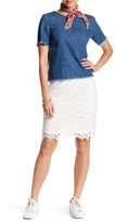 Joe Fresh Lace Skirt