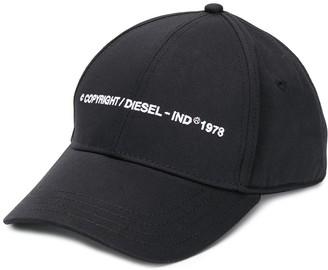 Diesel Copyright Logo Baseball Cap