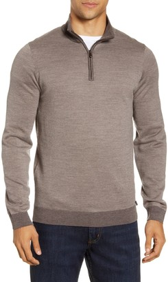 Brax Steffen Quarter Zip Wool Pullover