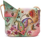 Anuschka Women's Large Abstract Flap Bag