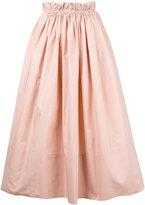 Chloé paper bag waist midi skirt - women - Cotton - 36