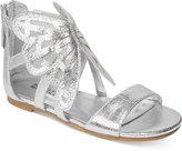 Badgley Mischka Cara Butterfly Sandals, Little Girls (11-3) and Big Girls (3.5-7)
