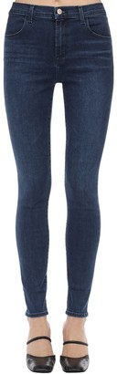 J Brand Maria High Skinny Stretch Denim Jeans
