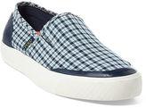 Polo Ralph Lauren Itford Plaid Slip-On Sneaker