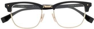 Fendi Eyewear horn-rimmed glass frames