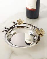 Michael Aram Gold Orchid Wine Coaster