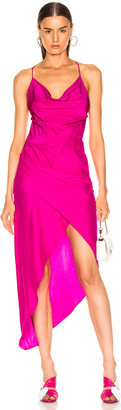 HANEY Holly Dress in Hot Pink | FWRD