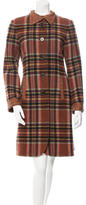 Etro Wool Plaid Coat
