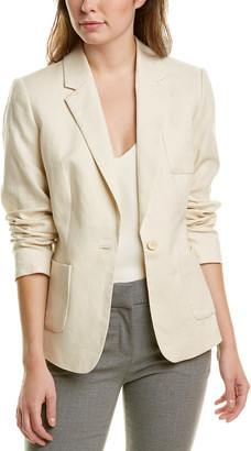 Brooks Brothers One-Button Linen Jacket