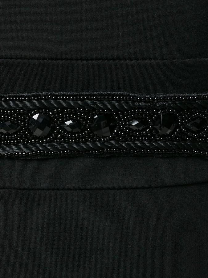 Pierre Balmain beaded embroidery dress