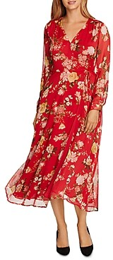 Vince Camuto Beautiful Blooms Floral Maxi Dress