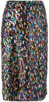 Odeeh embellished midi skirt