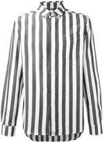 Saturdays NYC striped shirt - men - Cotton/Linen/Flax - S