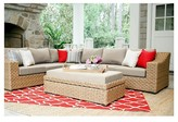 AE Outdoor Elizabeth 6-Piece Sectional with Sunbrella Fabric Cast - Ash