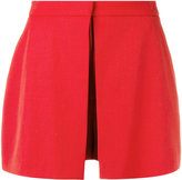 Alexander McQueen tailored short skort - women - Silk/Virgin Wool - 38