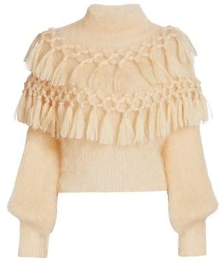 Zimmermann Ladybeetle Tassel Sweater