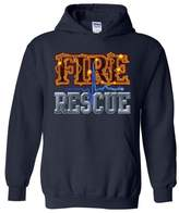 Xekia Fire Rescue Firefighter Hero Unisex Hoodie Sweatshirt