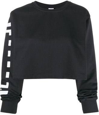 Wolford Logo cropped sweater