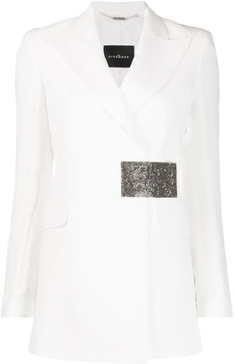 John Richmond Wrap Front Blazer