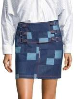Opening Ceremony Denim Tab Skirt