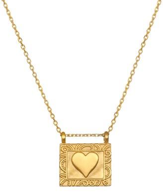 Satya Framed Heart Necklace