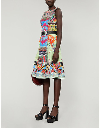 Etro Abito Ibisco printed midi dress