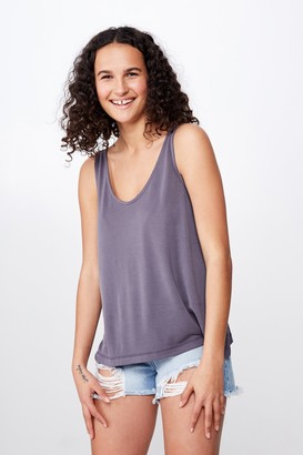 Cotton On Tia Scooped High Low Tank