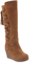 BearPaw Women's Britney Knee-High Wedge Boot