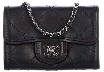 Chanel Quilted Crossbody Flap Bag