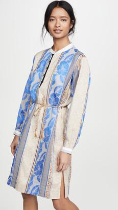 Forte Forte Saint Barth Jacquard Tunic Dress