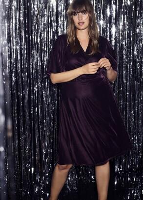 Phase Eight Hannah Velvet Wrap Dress