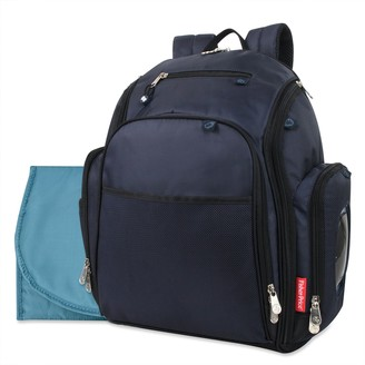 Fisher-Price Kaden Pocket Fast Finder Backpack Diaper Bag