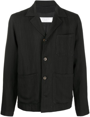 Societe Anonyme Notched Collar Shirt Jacket