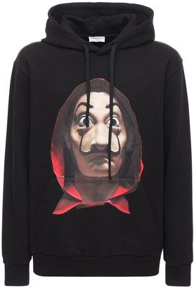 Ih Nom Uh Nit Dali Mask Printed Hoodie