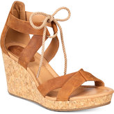 Sperry Women's Dawn Ari Lace-Up Platform Wedge Sandals
