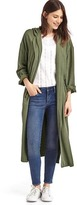 Gap TENCEL drapey hooded coat