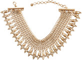 Lydell NYC Vintage-Inspired Golden Choker Necklace