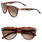 BOSS ORANGE 56MM Oversize Round Sunglasses