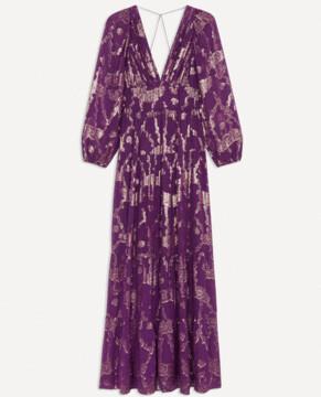 BA&SH Dina Violet Dress