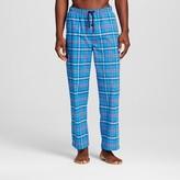 Merona Men's Poplin Sleep Pant Light Blue Plaid