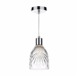 Där Lighting Dar Lighting - Motif Clear Pendant Light - Glass