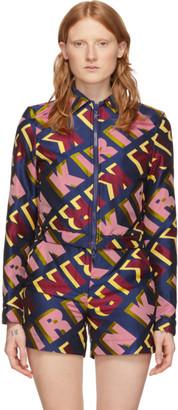 Kirin Multicolor Jacquard Type Jacket