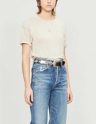 Etoile Isabel Marant Koldi linen T-shirt