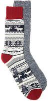 Aston Grey Men's Nordic Men's's Boot Socks - 2 Pack