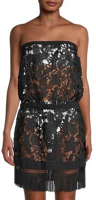 Ramy Brook Delphi Lace Coverup Dress