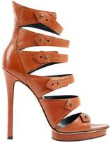 Brian Atwood Leather Sandal
