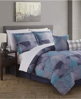 Jessica Sanders CLOSEOUT! Paradigm Reversible 12-Pc. Queen Comforter Set