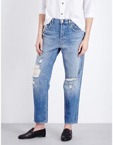 J Brand Ivy Straight High-rise Jeans